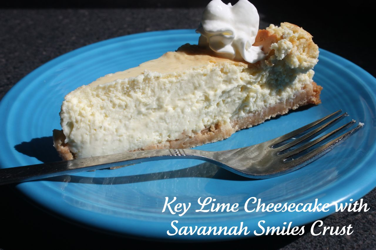 Key Lime Cheesecake with Savannah Smiles Crust