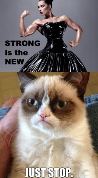 strong is not the new sexy