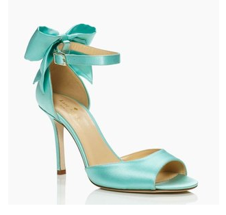 Kate Spade Tiffany blue Izzie heels
