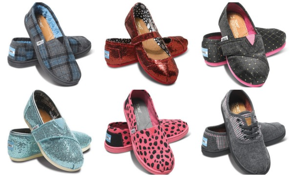 TOMS kids deal