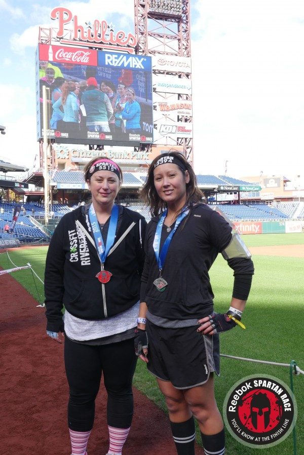 spartan race citizens bank park finish line